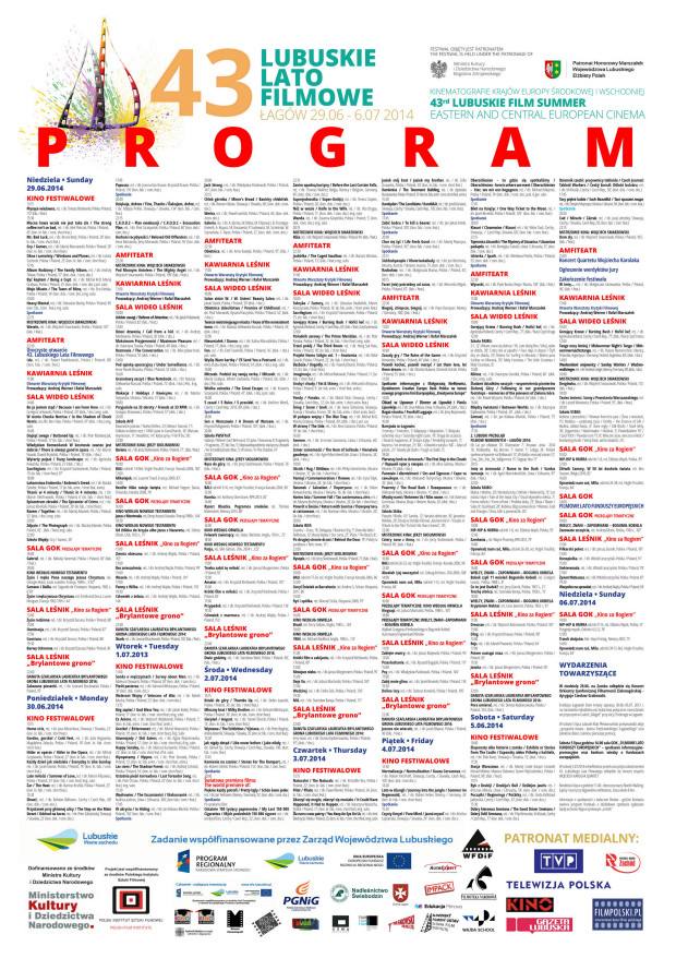 plakat programowy LLF2014m