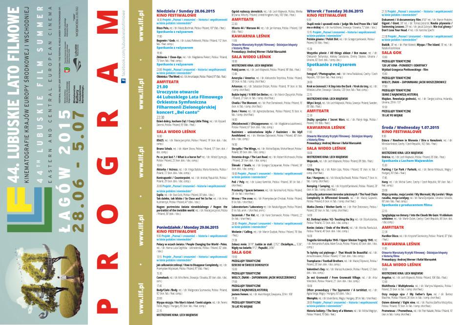 program llf 2015 ulotka