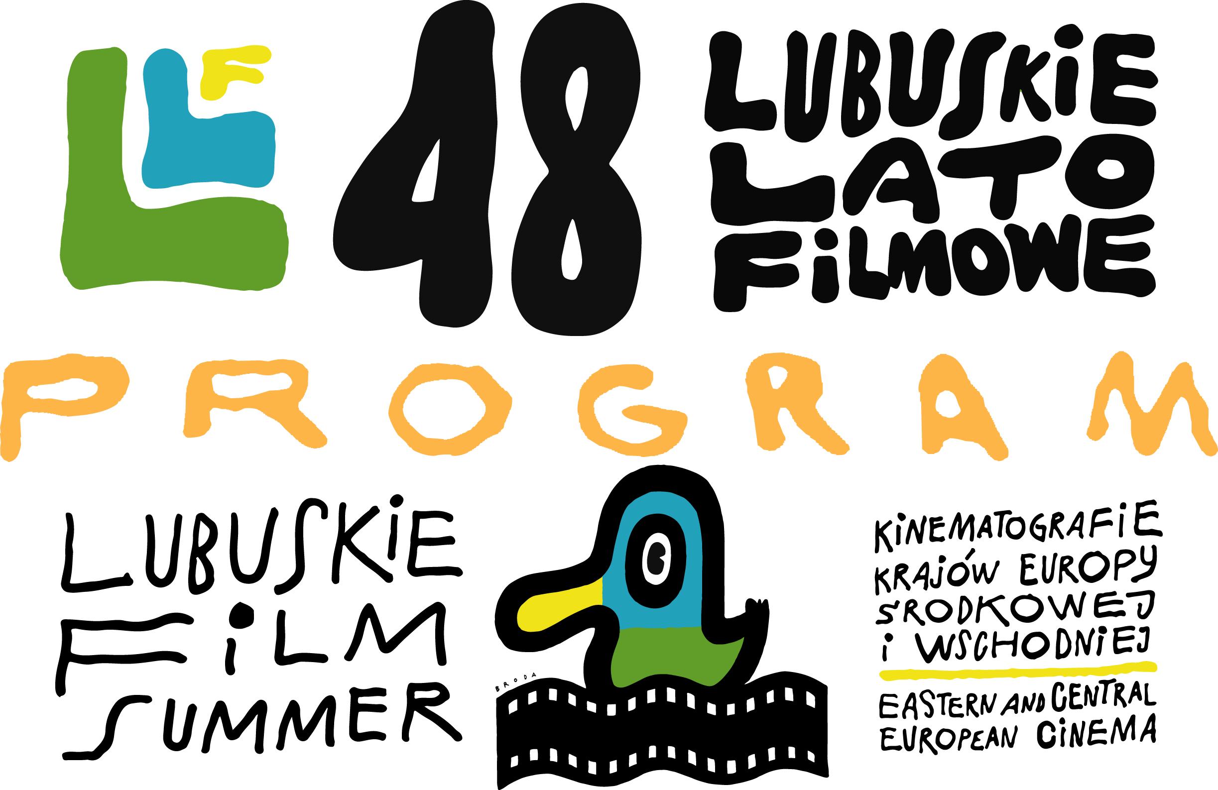 Plakat Programowy 48 Lubuskiego Lata Filmowego 48